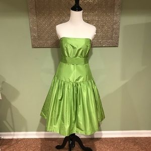 Lilly Pulitzer silk strapless dress